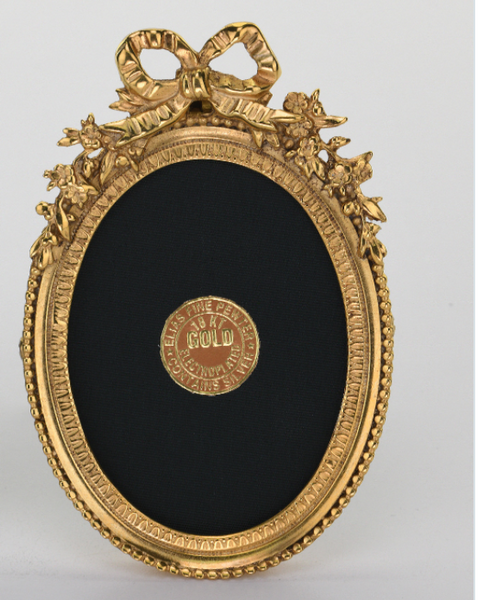 Acanthus Oval Picture Frame