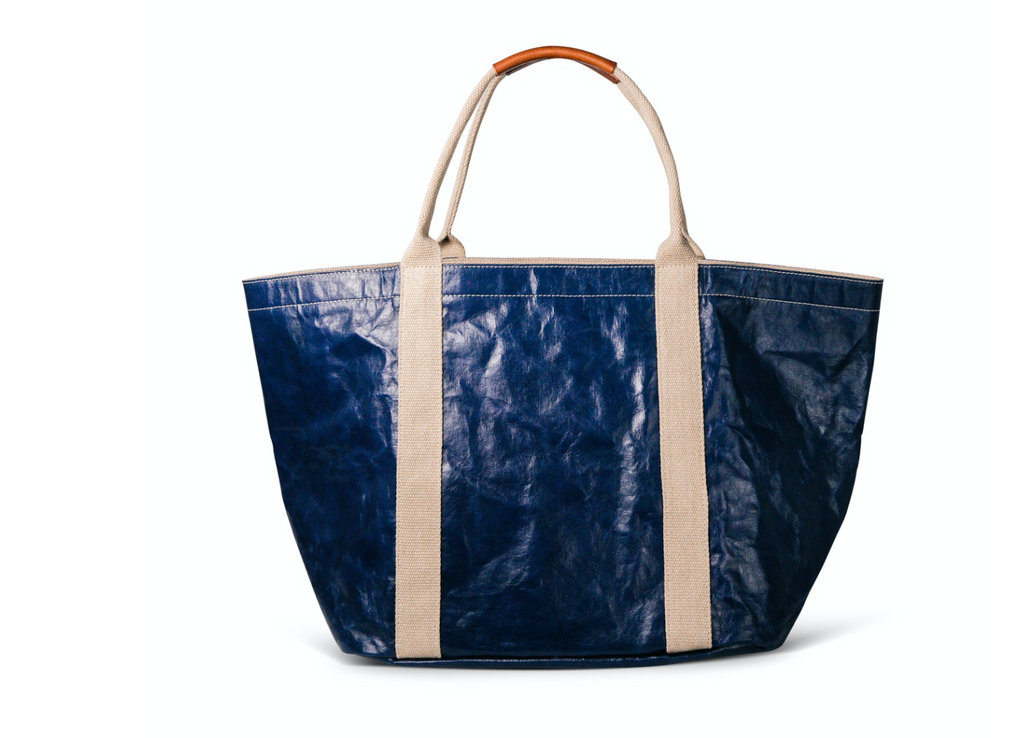 Giulia Lux Large Bag in Cobalt