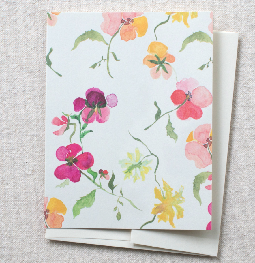 Greeting Card - Many Blooms - Blank