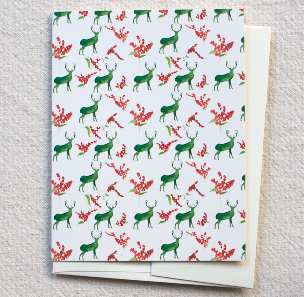 Greeting Card - Stag