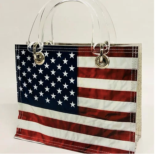 Coco w/Clear Lucite Handles - Americana