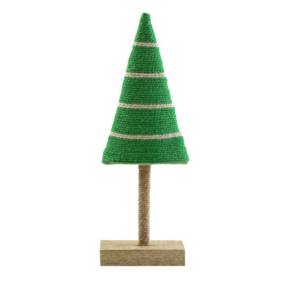 Alberini  Lime Green W/Stripes Medium Tree