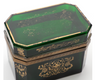 Estate Collection Ormolu Mounted Beveled Glass Casket