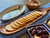 Olive Wood Cracker Tray