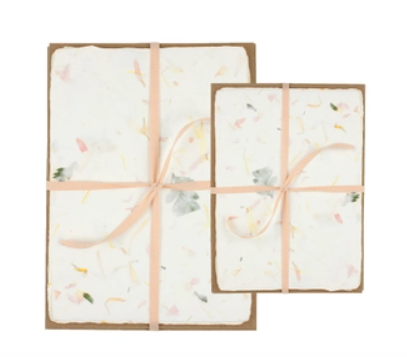 Floral Handmade Paper Pack - Two Sizes