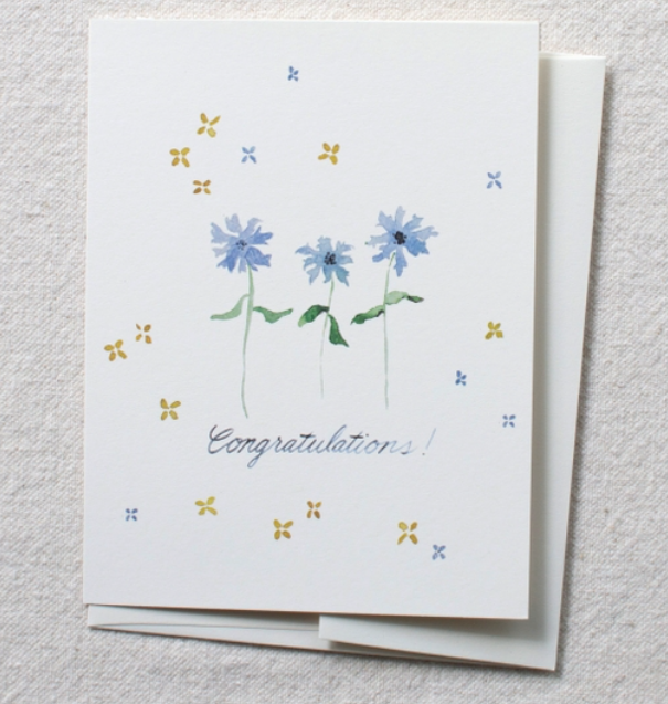 Greeting Cards - Congratulations - Single Card