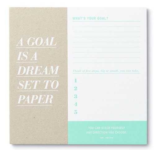 Desk Pad - A Goal is a Dream