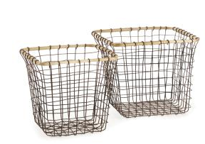 Baskets - Yountville Square Baskets