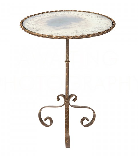 Occasional Table - Bolden Table in Rustic Storm