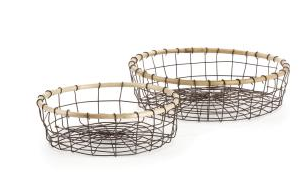 Basket - Yountville Low Baskets