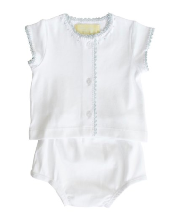 Pima Cotton Jersey Crib Set