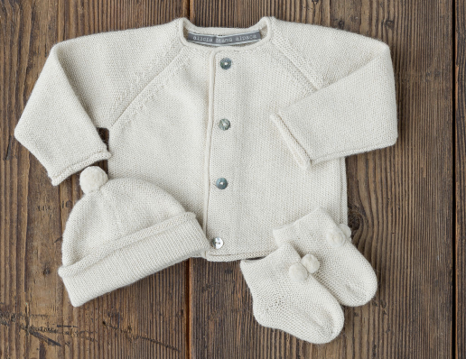 Alpaca Three Piece Newborn Set