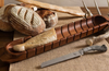 Baguette Board w/Antler Bread Knife