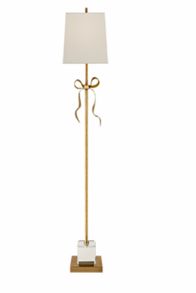 Lamp - Ellery Gros-Grain Bow Floor Lamp