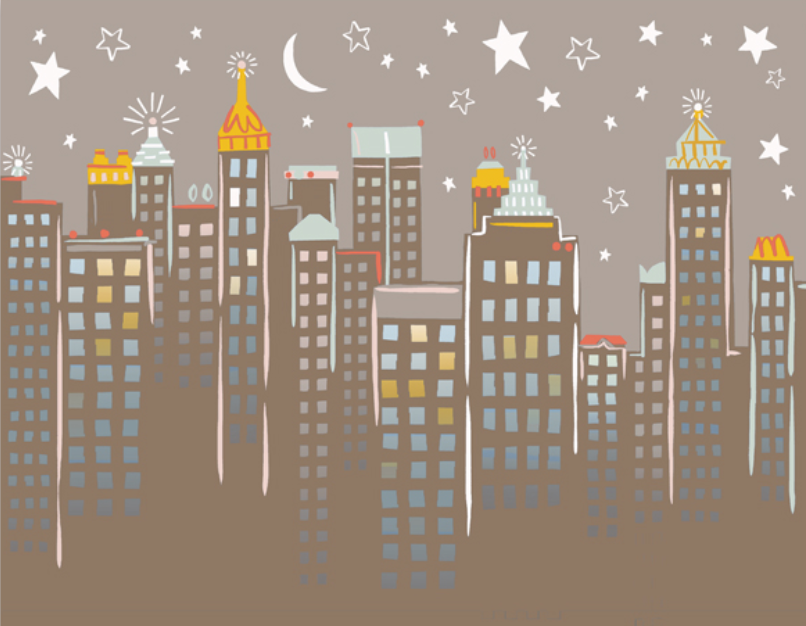 Art Print - Atlanta Skyline