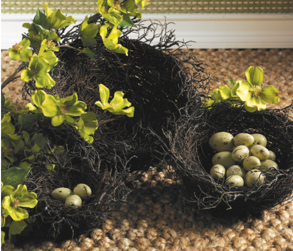 Brown Twig Nest Baskets