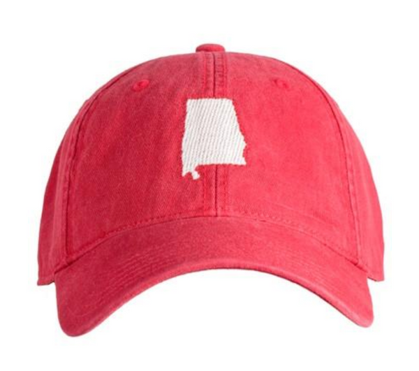 Hat Alabama On Red
