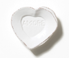 White Heart Mini Amore Plate