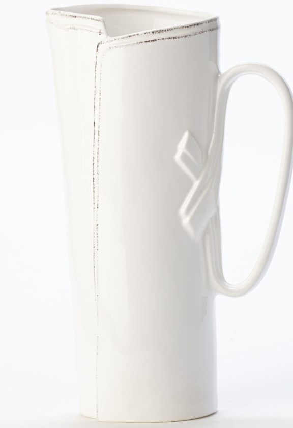 Lastra White Tavern Pitcher