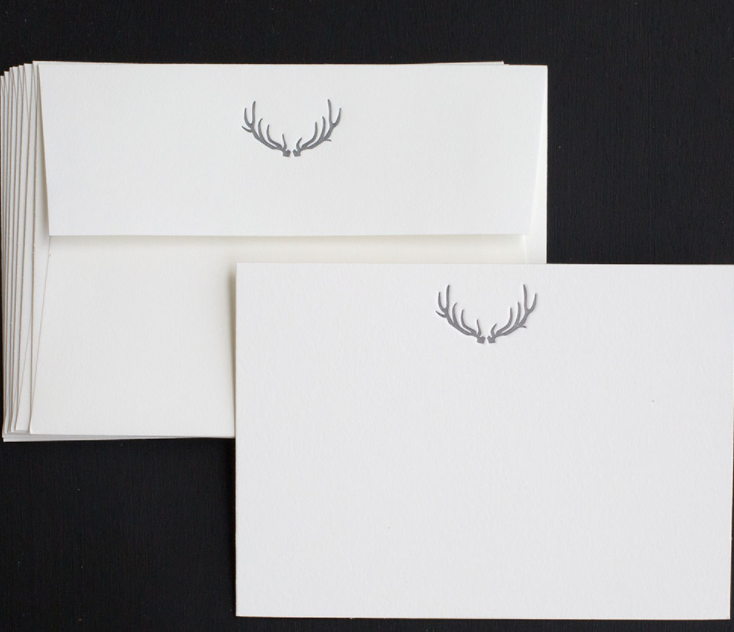Note Cards - Luxe Antler