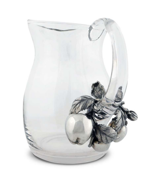 Apple Glass Pitcher