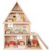 La Grande Famille Dollhouse w/Furniture