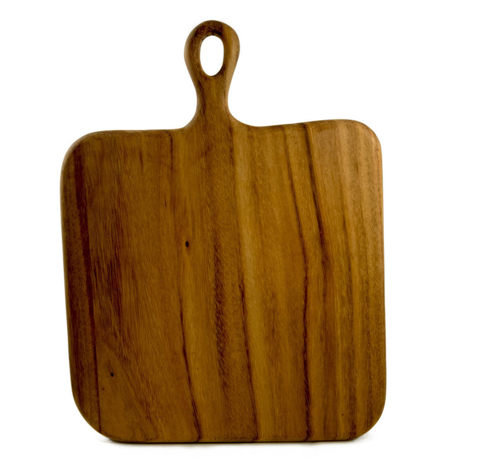 Cutting Board Square Loop Handled Board