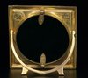 American Circle in Square Picture Frame