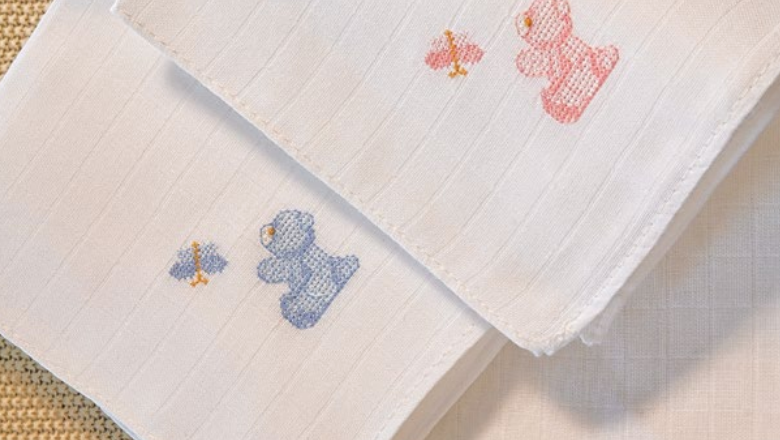 Burp Cloths - Bear