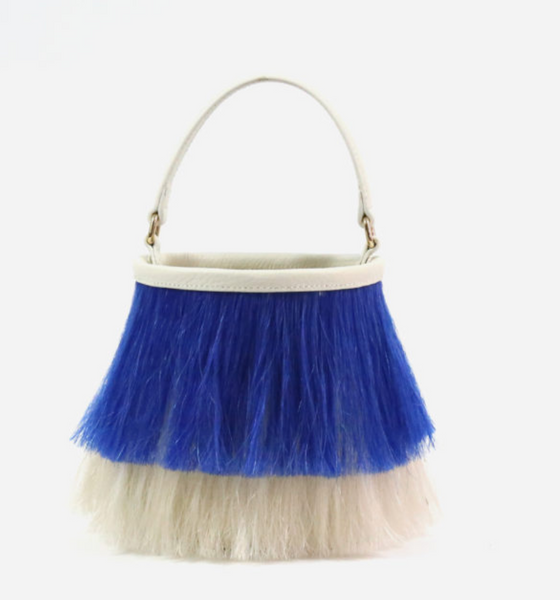 Neely & Chloe The Bucket Bag in Two Tone Horse Hair