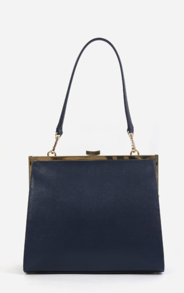 Neely & Chloe The Frame Bag in Saffiano Leather