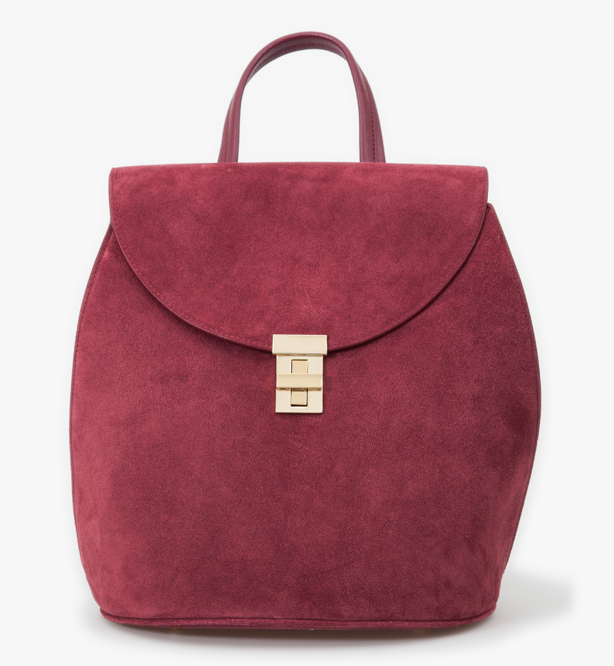 Neely & Chloe Suede Backpack