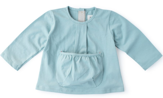 Clothing - Egg Blue Pocket Shirt To Carry Hazel Village Friend In