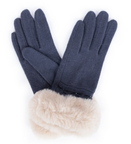 Phillipa Faux Suede Gloves