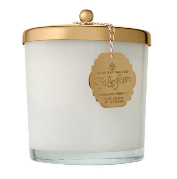 Candle - Cinnamon Beignet Glass Jar