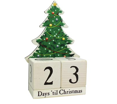 Advent Countdown Tree