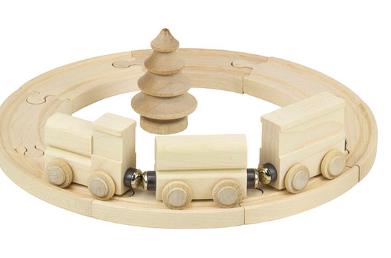 Wooden Color Me Cars - Car and Circle 12 Piece Set