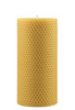 Pure Beeswax Pillar Candles - Ivory