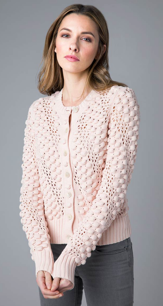 Bobble Short Cardigan