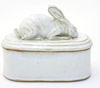 Crouching Rabbit Lidded Vessel
