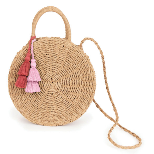 Serena Seagrass Bag