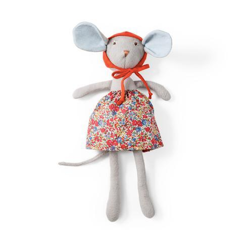 Animal - Catalina Mouse in Hedgerow Skirt & Bonnet