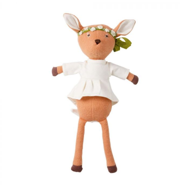 Animal - Phoebe Fawn in Tunic & Flower Crown