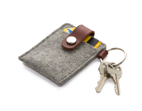 Felt Key Card Case