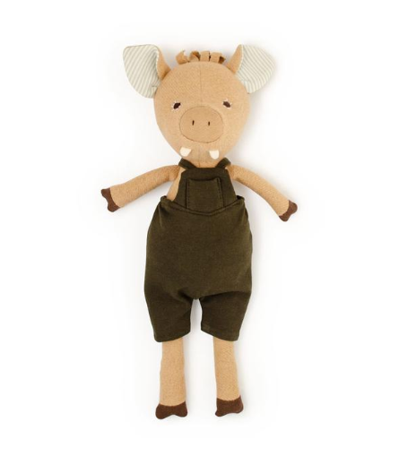 Animal - Augustus Wild Boar in Adventure Romper(Overalls)