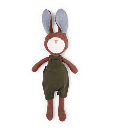 Animal - Lucas Rabbit in Adventure Romper(Overalls)
