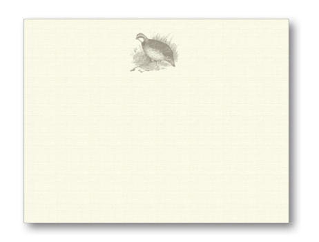 Note Cards - Quail