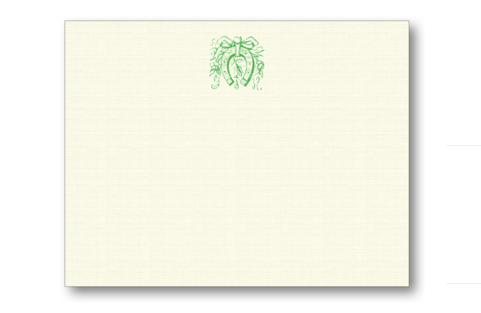 Note Cards - Horseshoe in Clover