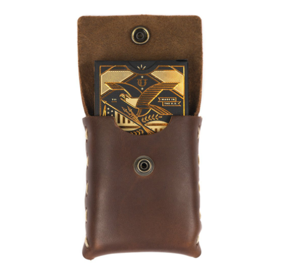 Playing Cards in Prestige Leather Case