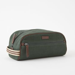 Dopp Kit Canvas & Wool Tweed